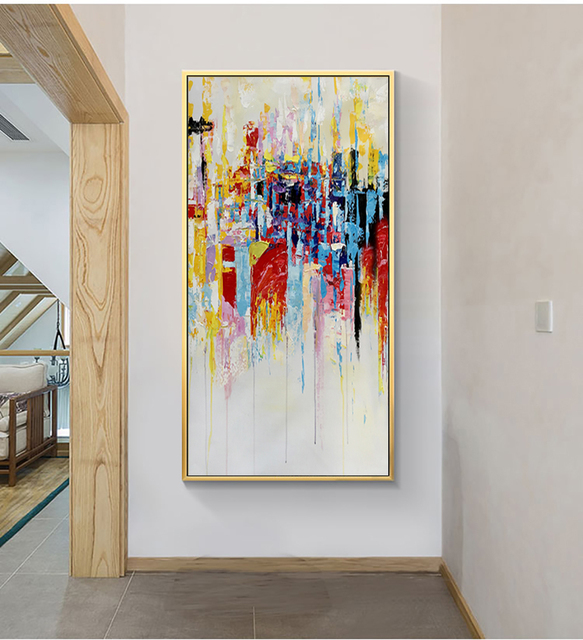MUYA wall pictures for living room large abstract painting