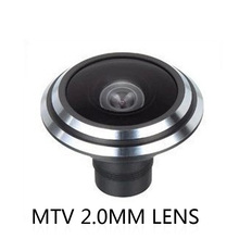 НОВЫЙ 2.0 мм объектив MTV M12 рыбий глаз объектив 175 градусов Угол Фиксированный объектив для Камеры ВИДЕОНАБЛЮДЕНИЯ