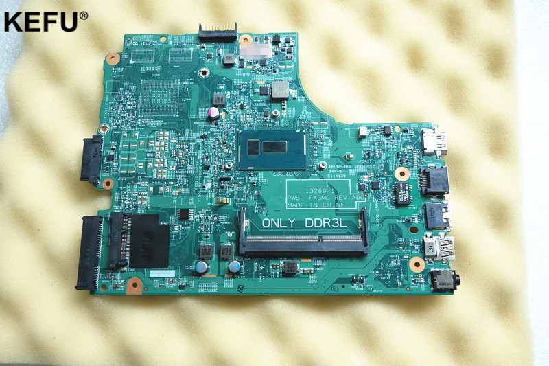 CN-08311V Fit for Dell Inspiron 15 3442 3443 3542 3543 5748 5749 Laptop Motherboard 13269-1 PWB.FX3MC REV:A00 3205U mainboard inspiron 3542