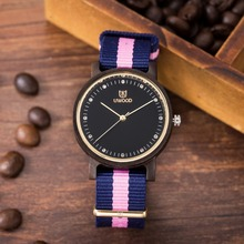 2017 New Trend Bamboo Wood Ladies's Wristwatch Pure wooden Watch Womens Luxurious Band Lovers Wooden Watches for Ladies