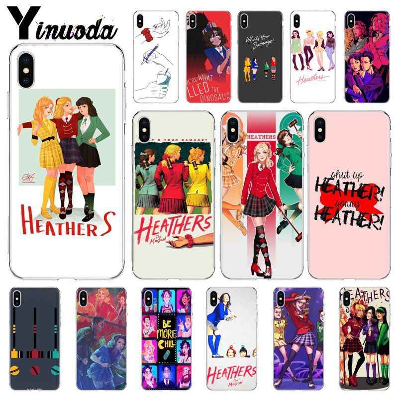 Yinuoda Heathers Broadway Musical New Released Cases Covers