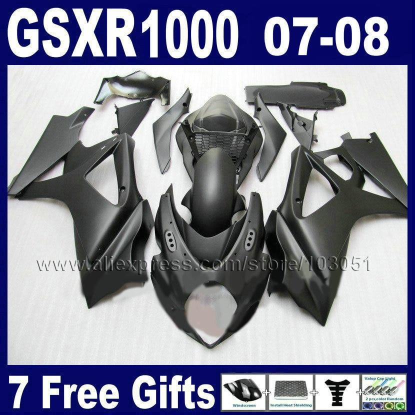 Custom OEM motorcycle fairings kit for SUZUKI GSXR 1000 2007 GSXR 1000 2008 GSXR1000 K7 K8