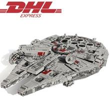 LELE 5265 Unids Star Wars Halcón Milenario del Último Colector Kits de Edificio Modelo Bloques Ladrillos Juguetes Para Los Niños Regalo 10179