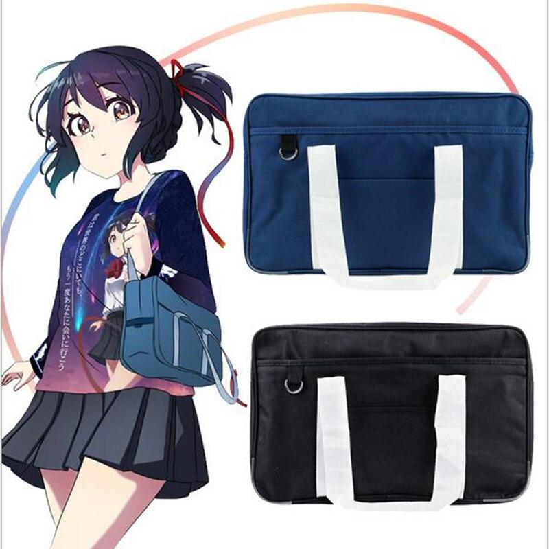 LoveLive Japanese Student Bags College Student School bag JK Commuter bag briefcase Bookbag Travel Messenger Bag Handbag