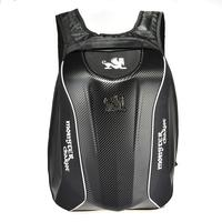 Men's Motorcycle Bag Carbon Fiber Waterproof Motorcycle Backpack Riding Laptop Bag For Travelling Camping Cycling Storage Bag