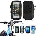 Универсальный Мобильный Телефон Велосипедов Водонепроницаемый Чехол Скутер Руль Держатель для iPhone6 Plus Samsung HTC Xiaomi Смартфон Мешок