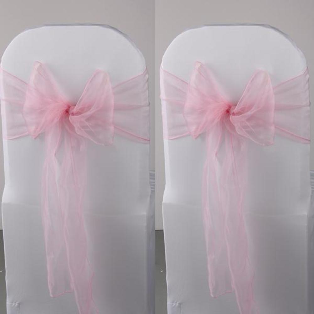 Online kopen Wholesale roze stoelbekleding uit China roze ...