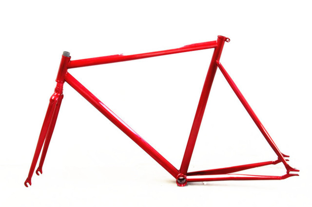 fixie Bicycle FIXED GEAR frame FIXIE VINTAGE frame and fork frameset ...