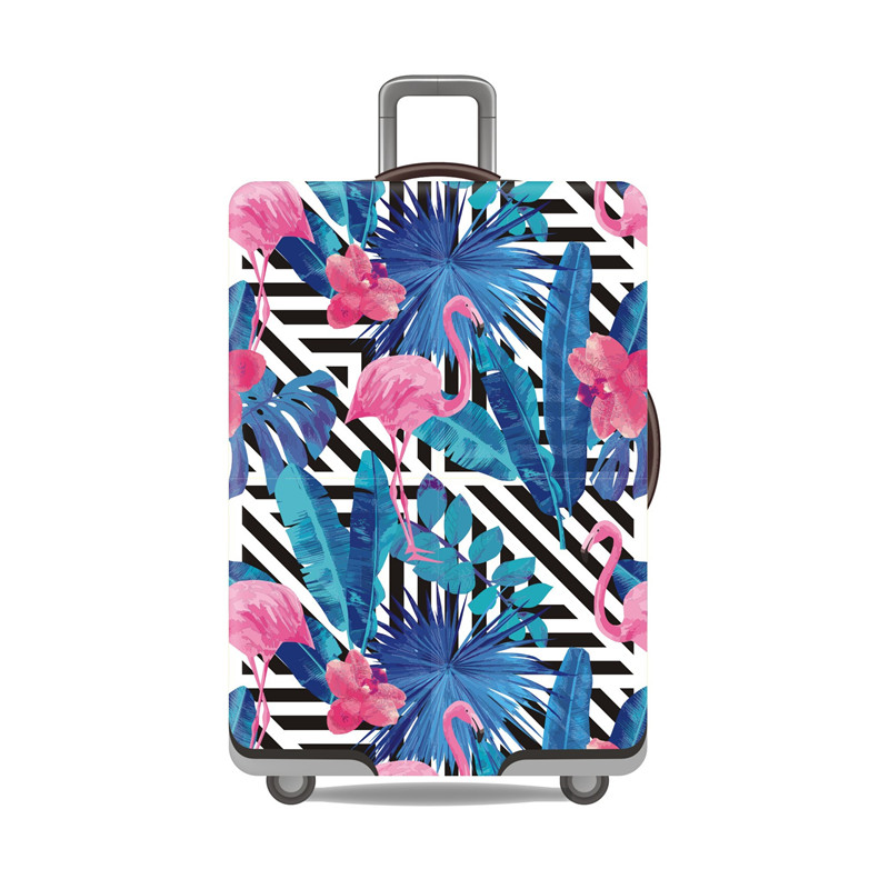 Flamingo Luggage Protective Cover  1