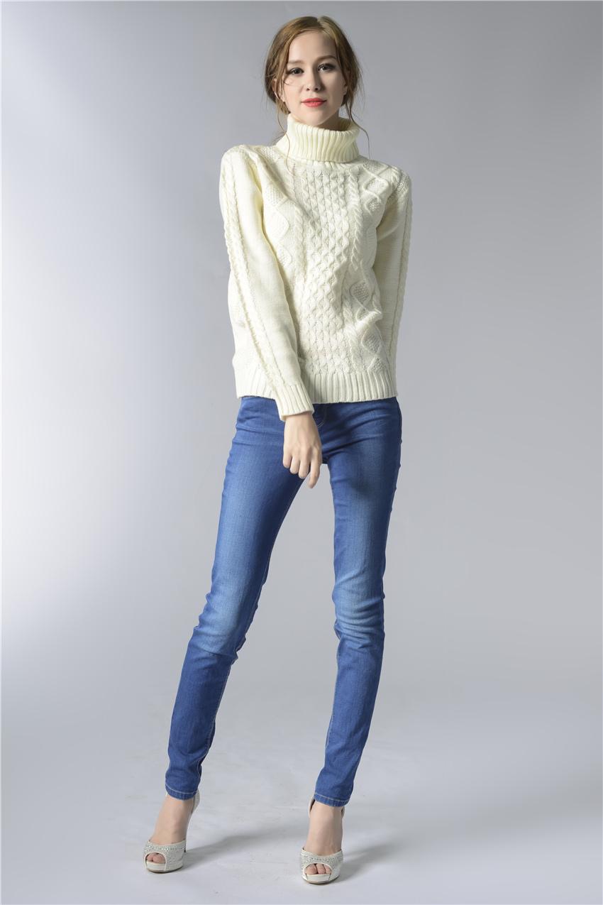 HTB1AUEFSpXXXXbAXXXXq6xXFXXXx - FREE SHIPPING ! Sweater Long Sleeve Turtleneck JKP196