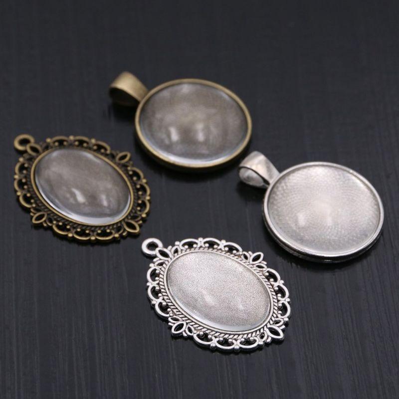 1 String Glass Petal Oval Pendant Beads Beautiful Rose Quartz Approx 20mm