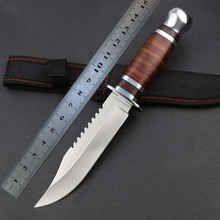 Colombia sharp knife survival outdoor survival tactics straight knife paratrooper color wood cutter knife gift