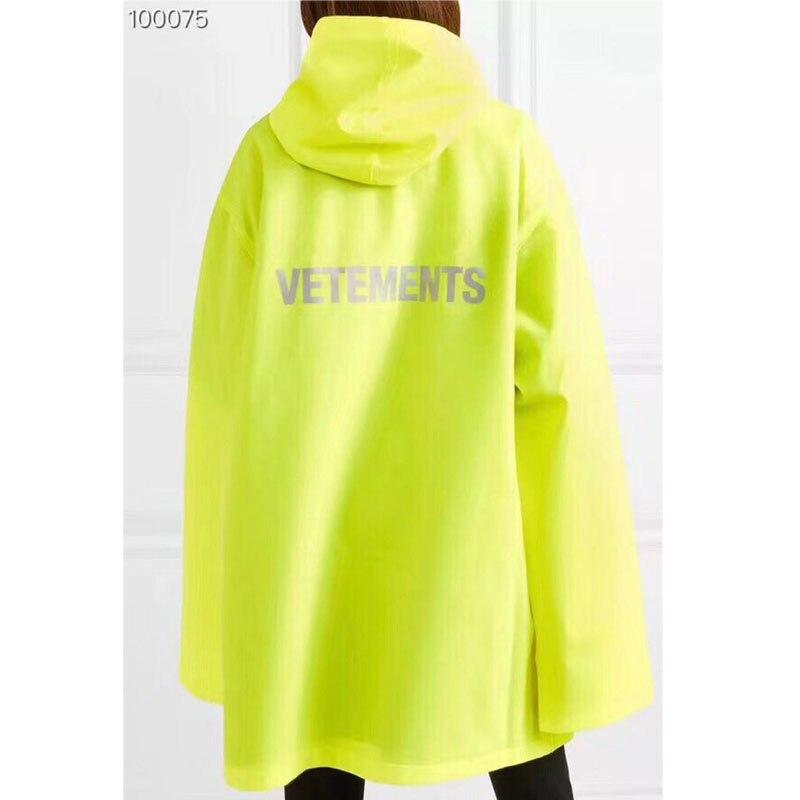 Coupe Surdimensionné Jaune Streetwear À Vestes Nouveau Hommes La Pluie vent Étanche 1 Femmes 18 Survêtement 2 Vetements Bleu Imperméable xqO6HwnYA
