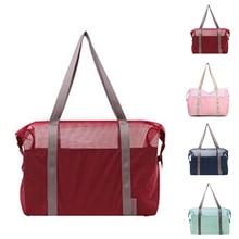 Women Storage Breathable Sports Swimming Fashion Outdoor Shoulder Bag Summer Nylon Travel Soft Beach Multifunctional