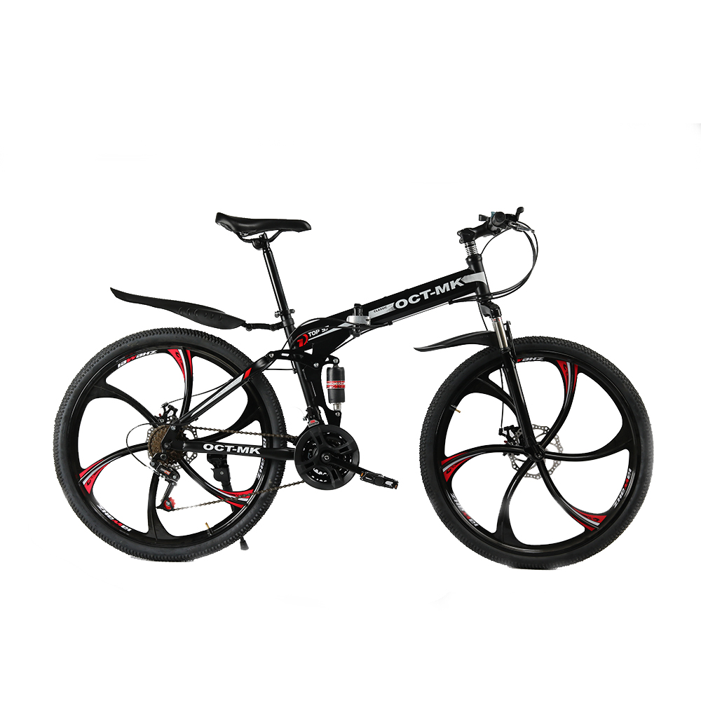 Russian wholesale and warehouse Top quality 26 Inch folding mountain bike 21 Speed Double Disc Brake complete bicycle 14 speed 20 inch wheels mountain bicycle double disc brake kids bike mountain bike for children