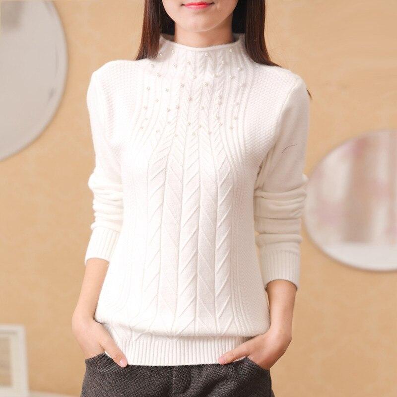 Hot sale new 2019 autumn winter all match slim sweater women outerwear turtleneck women sweater|Pullovers|Women's Clothing - title=