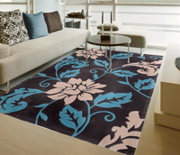 Tapis Salon Pastoral Acrylic Flowers Hand Cut Flowers Carpet Pad Alfombras Tapis Rugs And Carpets Plans