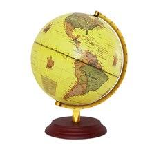 25 см Глобус земли мира карта география глобусы для рабочего стола украшения образования домашнего офиса помощи миниатюры детский подарок