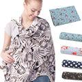 Bebé Cubierta de La Lactancia Materna Enfermería Cubre Nueva Flex Impreso Floral oxford liga mamá enfermería Cubre