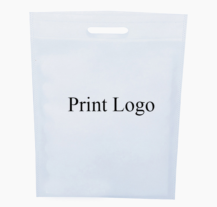 20 pieces/lot Size black/white/orange/pink/blue color non woven reusable shopping bags for clothing,custom logo bag available