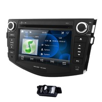 2Din Car CD DVD Player Radio for Toyota RAV4 Rav 4 2006 2007 2008 2009 2010 2011 2012 GPS Stereo Navigation SWC HD Bluetooth DAB