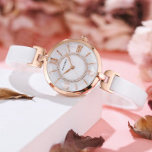 Top Brand Luxury Women Watches Ladies Fashion Ceramic Quartz Watch Elegance Clock Dress Female Dropshipping Montre Femme