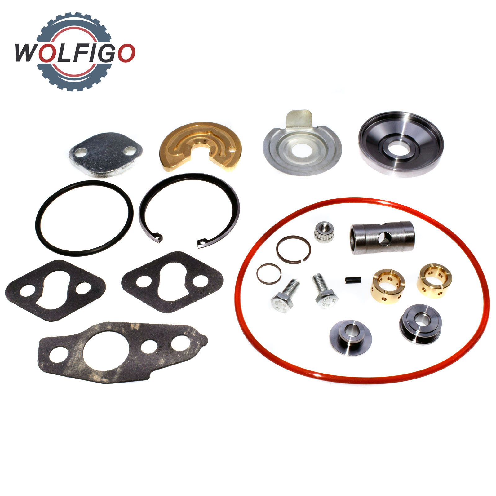 WOLFIGO Turbocharger repair kit Turbo Rebuild Kit Gasket CT20 CT26 3SGTE 1720174040 For Toyota Celica Land
