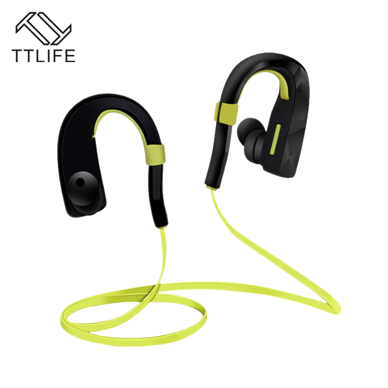 TTLIFE Bluetooth Earphone Wireless Headphones Sports Running Headsets Music Earbuds with Mic for iPhone 7 xiaomi Mobile Phones ttlife bluetooth earphone