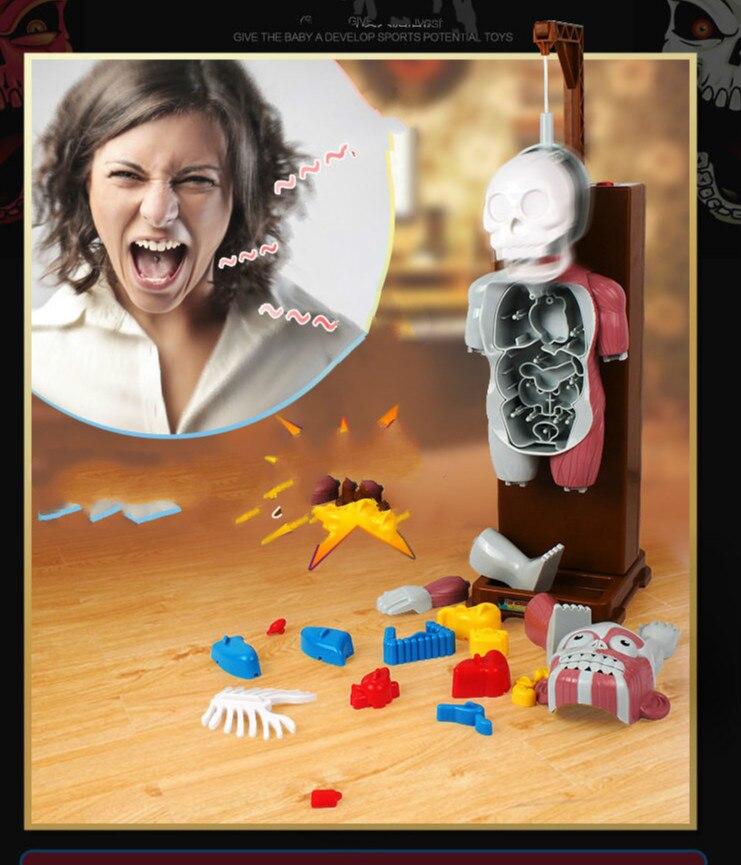 Nouveau Jouet Drôle Nouveauté Gag Jouets Trick Joke Cadeau Pour Enfants assemblé jouet Jeux Amusants les terroristes corps humain modèle 3D puzzles