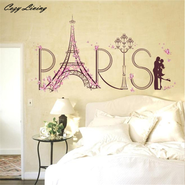 Wall Stickers Romance Decoration Wall Poster Home Decor DIY Letter ...