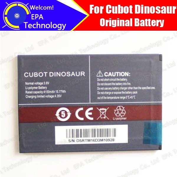 Cubot Dinosaur Battery 100% Original New 4150 mah Replacement Battery for Dinosaur free shipping