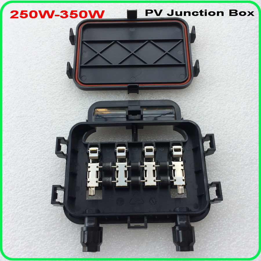 5pc/lot 250W-350W of junction box for solar panel DIY, solar junction box, pv junction box
