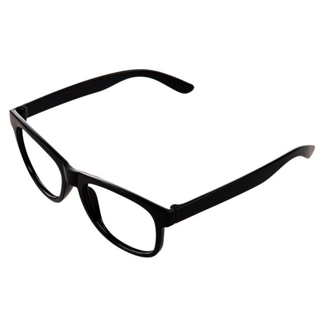 Bergaya Laki-laki Perempuan Anak Anak Partai Aksesoris Kacamata Bingkai Ada  Lensa Baru-hitam c9d86f6f2f