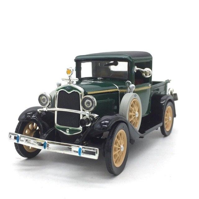 1:32 מכונית קלאסי בציר עתיק משאית מודל סגסוגת רכב דגם עבור פורד אורך 13 cm