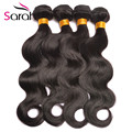 Hot Sale Queens Hair Products Malaysian Body Wave 4 Bundles Natural Color Wet And Wavy Human Hair Malaysian Virgin Hair