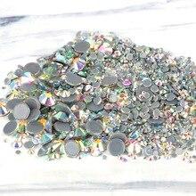 Strass Nail-Art-Stone Fabric Rhinestones Crystal Sewing Flatback Garment Glitter Hot-Fix