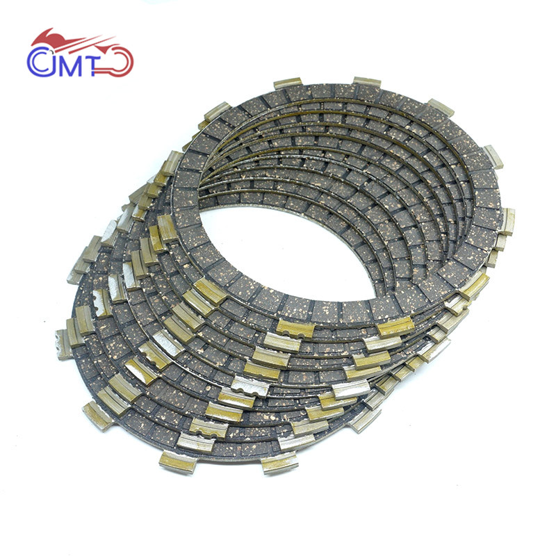 For Yamaha Dirt Bike YZ426F 2000 WR450F 2004 YZ450F 2003 2004 2005 2006 Clutch Friction Disc Plate Kit 9 Pieces
