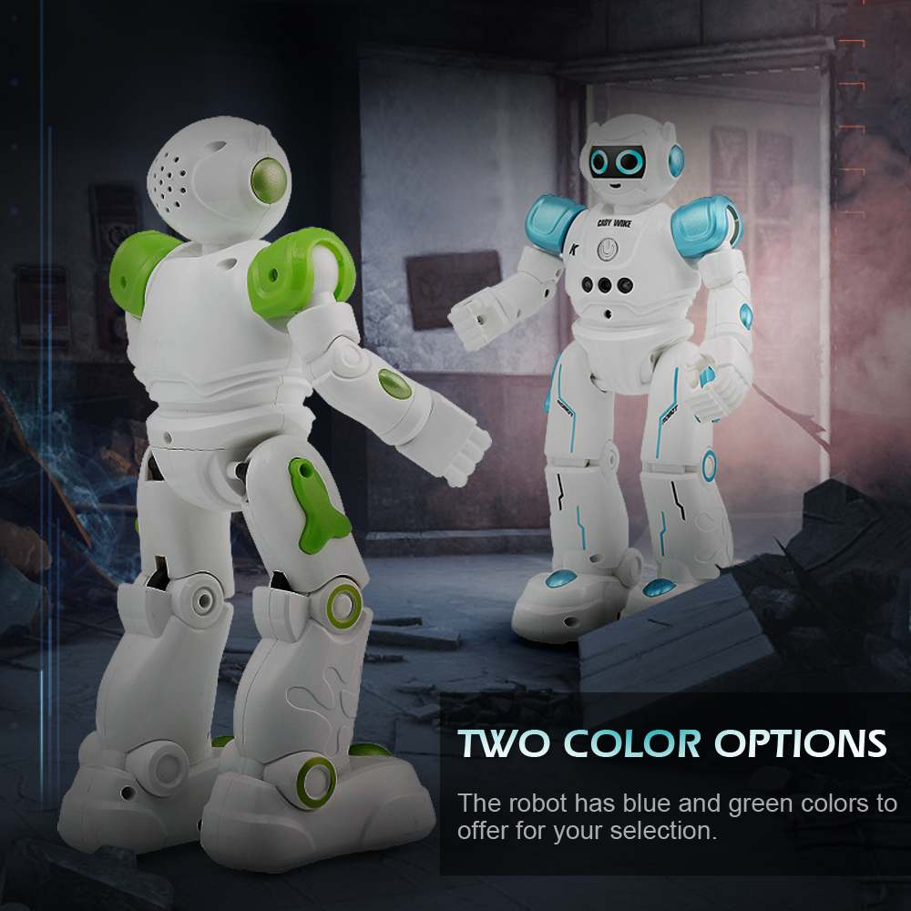 LEORY RC Robot Intelligent Programming Remote Control, Gesture Dance Robot For Children