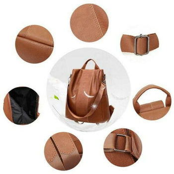 Leather Anti-theft Shoulder bag 3