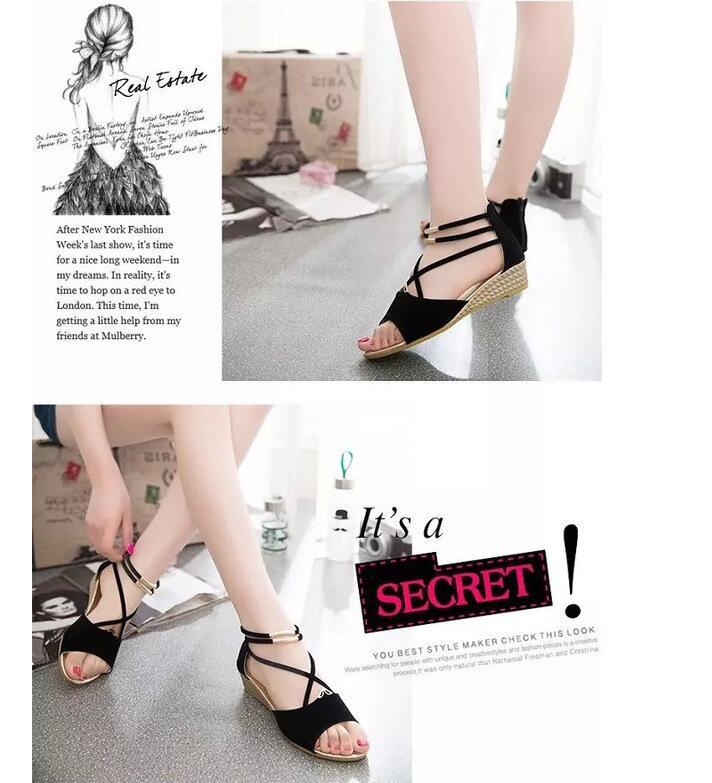 HTB1AUKkeAfb uJkSmFPq6ArCFXaG XDA 2019 fashion Women zipper sandals Shoes woman footwear sandals Women's summer shoes Gladiator Casual Ladies Shoes
