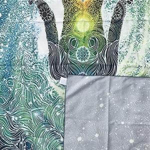 Image 4 - 2 サイズ 200 センチボヘミアン 7 チャクラタペストリー壁掛け布ベッドカバー寮カバーホーム装飾敷物ピクニックマットビーチマット