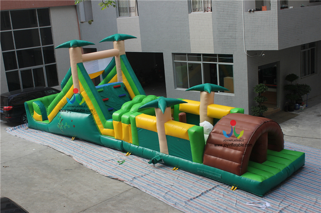 14x3 M Mini Tunel Inflable Juegos Inflables Adultos Obstaculos