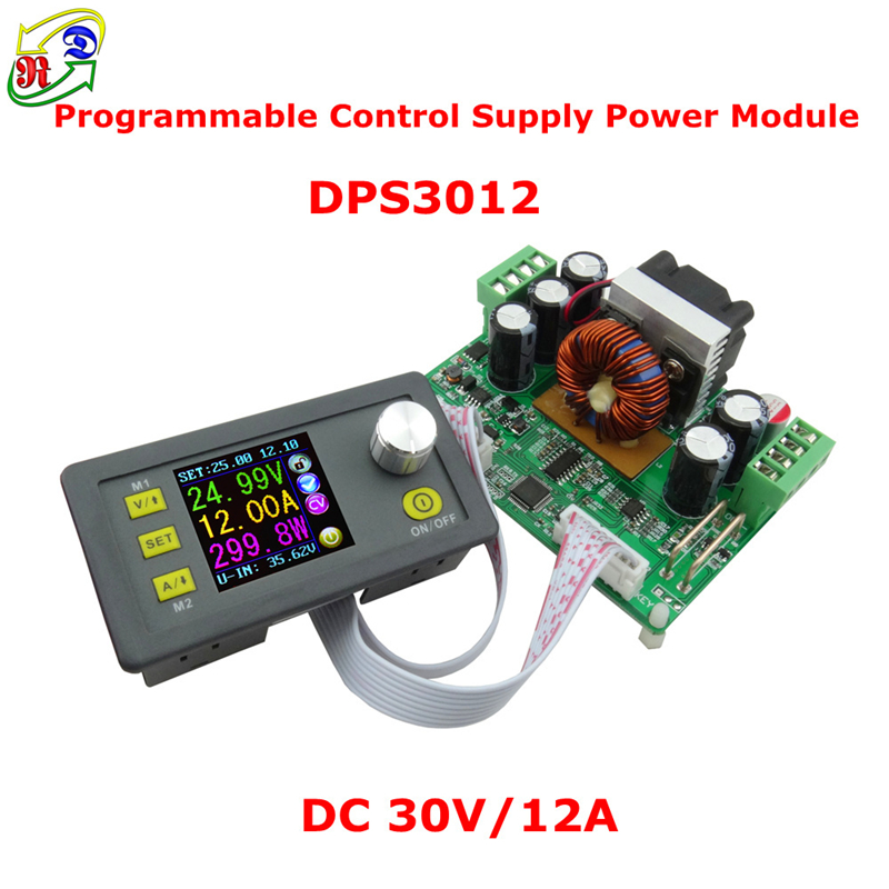 RD DPS3012 Constant Voltage current Step-down Programmable Power Supply module buck Voltage converter LCD voltmeter 32V 12A 30pcs lot by dhl or fedex dps3005 communication function step down buck voltage converter lcd voltmeter 40%off
