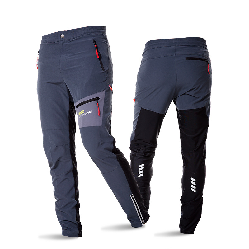 2017 New Cycling Pants Men&Woman Breathable Hiking Fitness Multi-use Outdoor Sports Trousers Bicycle Running Cycling Clothings outdoor sport pants stitching breathable quick drying pants cycling hiking camping fishing running jogging luminous sports pants