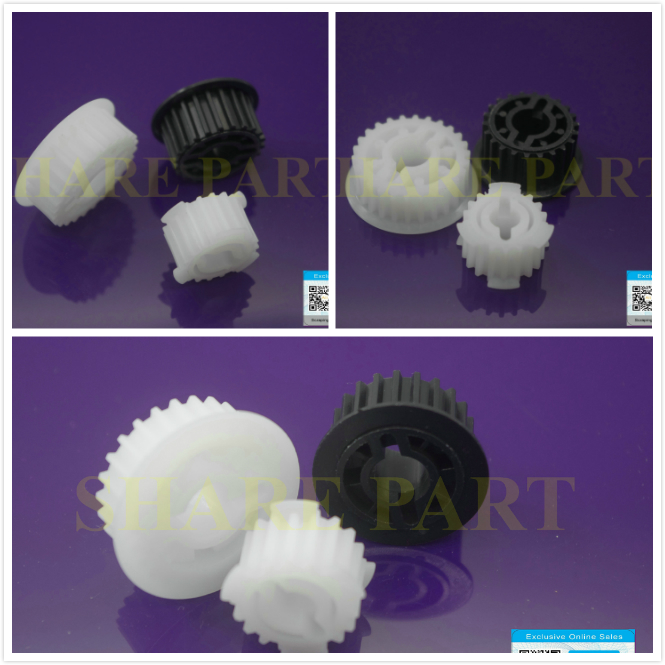 2 X New Fuser Drive Belt gear kit For canon IR5570 6570 IR5055 5065 IR5075 5070 5060