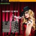 2015 el más nuevo Kamry e cig Kamry q caja mod 600 mah para 0.3 - 9.9 ohms 3.3 - 4.2 V vaporizador de gama alta aleación de Zinc envío gratis