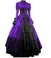 (LD019) Gothic Lolita Civil WarMedieval Dress Gothic Victorian Ball Gown Fancy Dress Prom Halloween Party Costume