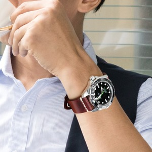 Image 5 - MAIKESนาฬิกาอุปกรณ์เสริมวัวหนังสร้อยข้อมือสีน้ำตาลVINTAGEนาฬิกา 20 มม.22 มม.24 มม.สำหรับfossil Watch