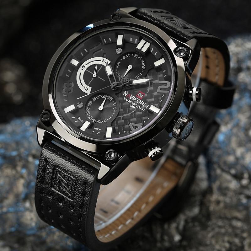 NAVIFORCE Sports Watches Men Luxury Brand Fashion Quartz Analog Watch Man Casual Waterproof Wristwatches Male Relogio Masculino цена 2017