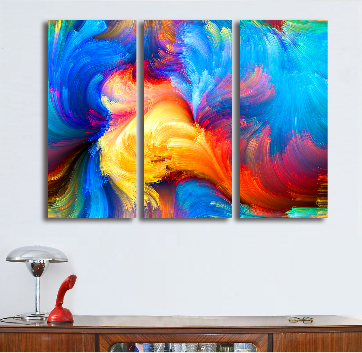 wall decor canvas promotionshop for promotional wall decor canvas  - fashion oil painting pcsset gorgeous clouds paiting home decor on canvasmodern wall art canvas print poster canvas painting